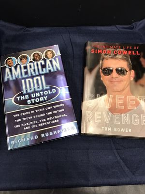 Simon Cowell Book Set (not autographed), American Idol's Founder, and his Followup! Learn how the Multi-Millionaire Rose Above the Crowd to Produce S