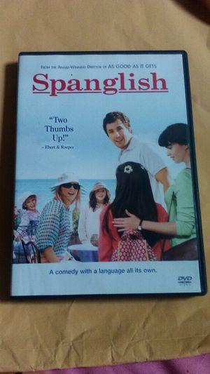 Spanglish Adam Sandler Movie DVD