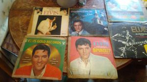Elvis Vinyl Record Collection