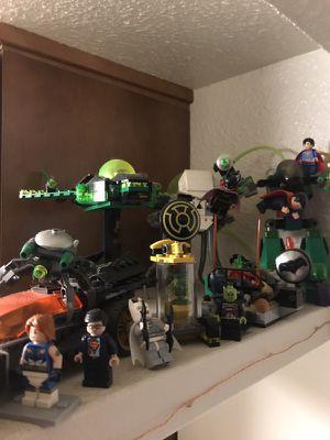 Various DC lego