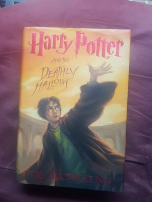 Harry Potter and the Deathly Hallows hardback retails $34.99