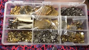 New earring blanks and backs and pin blanks for crafting