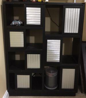 Pier one media cabinet/book shelf