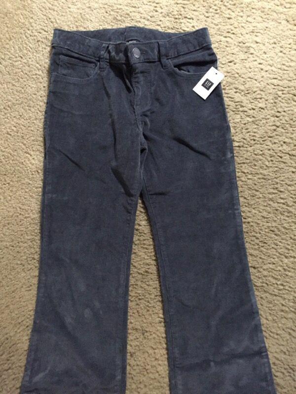 Gap kids girl size 8 regular boot leg corduroy pants ( Baby & Kids ...