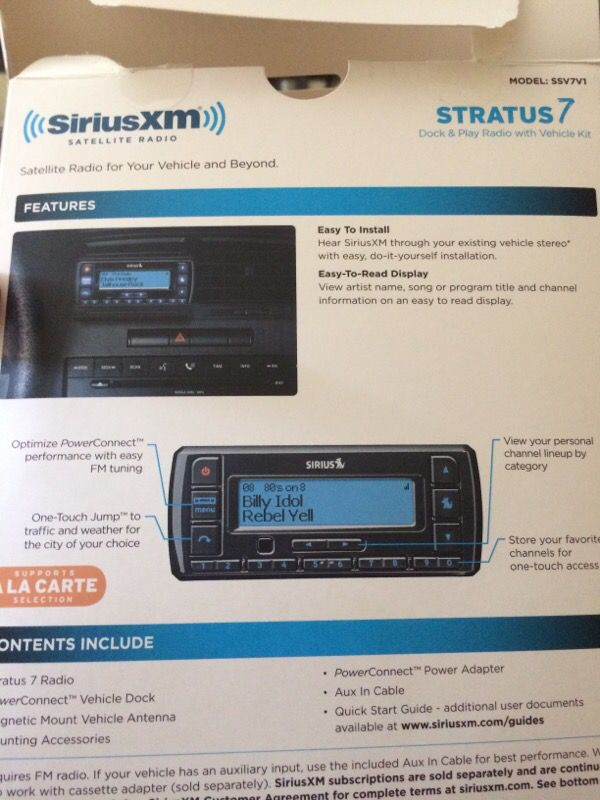 Siriusxm radio kit for sale appliances in campbell ca solutioingenieria