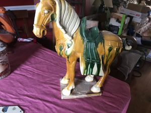 Chinese horse for shelf