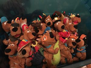 Scooby-Doo beanie plushie collection