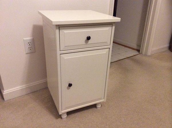 IKEA hemnes white nightstand table Furniture in Frederick MD