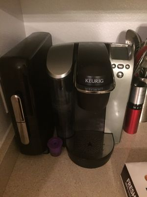 Kurig and pod holder