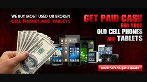 WE BUY YOUR OLD PHONES!!QUICK EASY CASH!!
