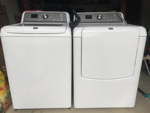 Under Manufacturers warranty (Dec2016) washer and dryer set