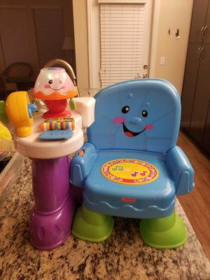Musical learning chair fisher price