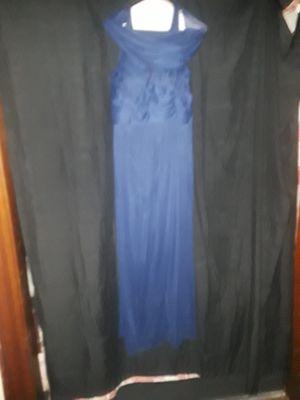 Blue David Bridial Prom Dress