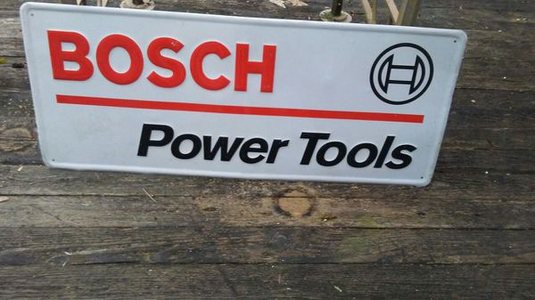Metal Bosch Power Tools Sign General In Bremerton Wa
