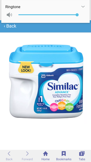5 new Similac need gone