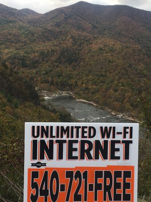New UNLIMITED INTERNET ANYWHERE