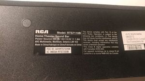 "RCA RTS7110B 40"" Home Theater Sound Bar with Bluetooth"