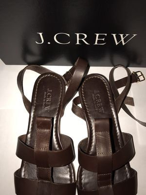 J.CREW SANDALS FOR SALE