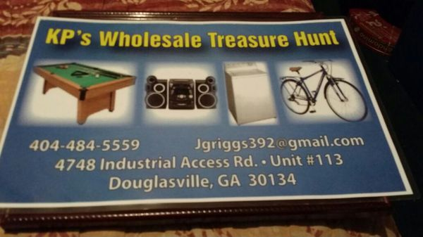 Kp 39 S Wholesale Treasure Hunt Electronics In Douglasville Ga Offerup