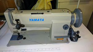 Yamata FY5618 Needle Feed Walking Foot Industrial Upholstery and leather sewing machine