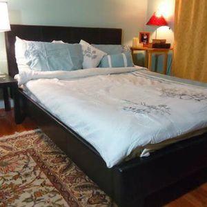 Queen Espresso Bed