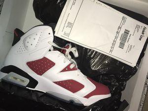 Nike air Jordan 6 carmine sz.11