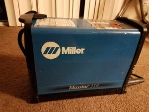 Miller maxtar 210 like new