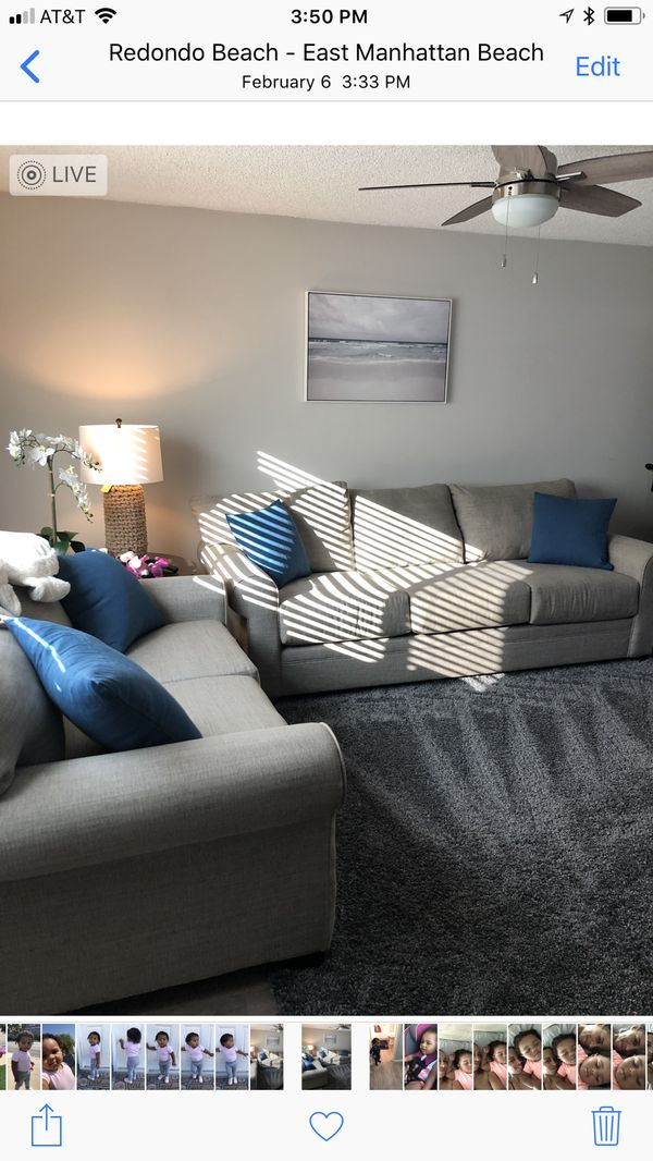 Living spaces Thompson sofa and Love seat Furniture in Redondo