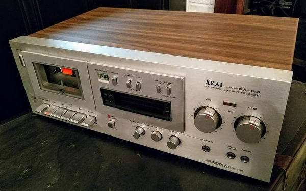 akai gx m30 vintage stereo cassette deck antiques in. Black Bedroom Furniture Sets. Home Design Ideas