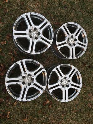 Genuine/OEM Acura A-Spec Wheels (ENKEI) NO TIRES