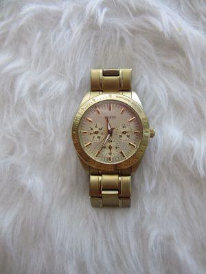Unisex Women's or Men's Guess Gold Tone Watch