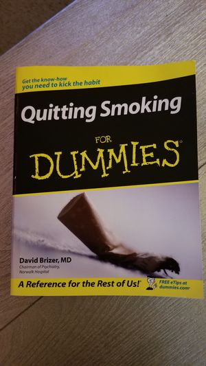 Quit Smoking for Dummies book