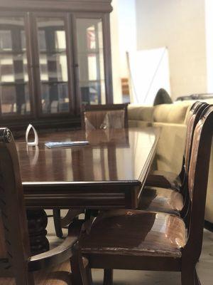 Beautiful brand new formal dining room set