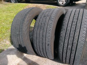3 continental tires 215-55-16