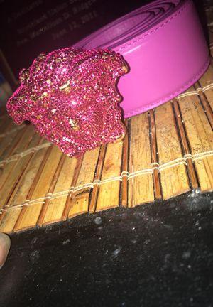 Pink Versace Belt