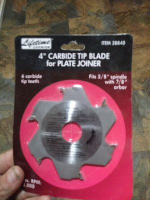 4 inch carbide tip blade for plate Joiner