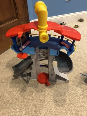 Paw Patrol watch tower!