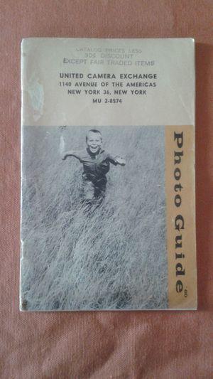 United Camera Exchange Catalog 1950's