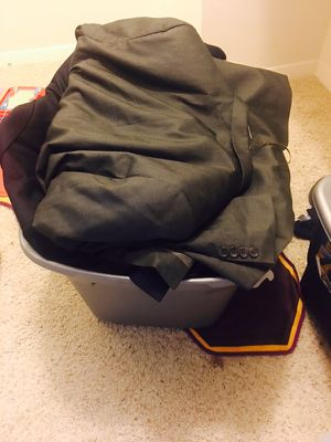 Large box of man clothes