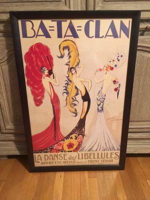 La Danse Des Libellules professionally framed print. Print by Jose deZamora