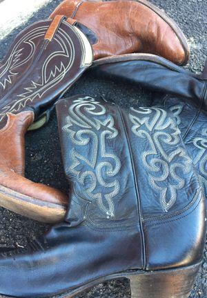 2 Cowboy Boots