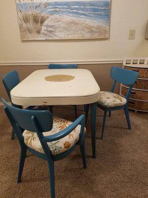 Upcycled Mid Century Dining Set