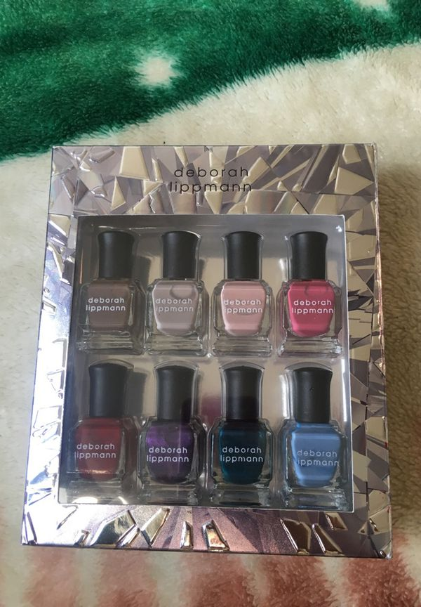 Deborah Lippmann crystal prism nail polish set (Beauty & Health) in ...
