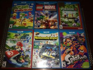 Wii-U Games $25 each or All for $...