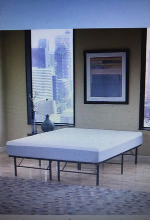 """Full or Queen size Split Metal 12"""" off ground Frame Bed, will Deliver!"""