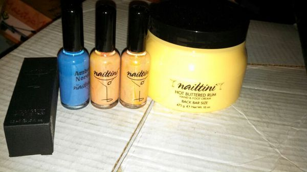 Nailtini nail polish / lacquer and hot buttered rum hand and foot ...