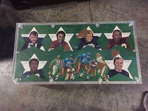 Vintage NFL toy chest