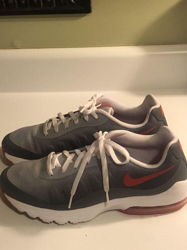 Men's Nike Air Max Gray Sneakers Size 12