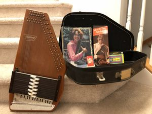 Antique Autoharp Works perfect