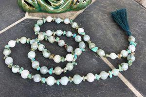 Burmese real jade necklace